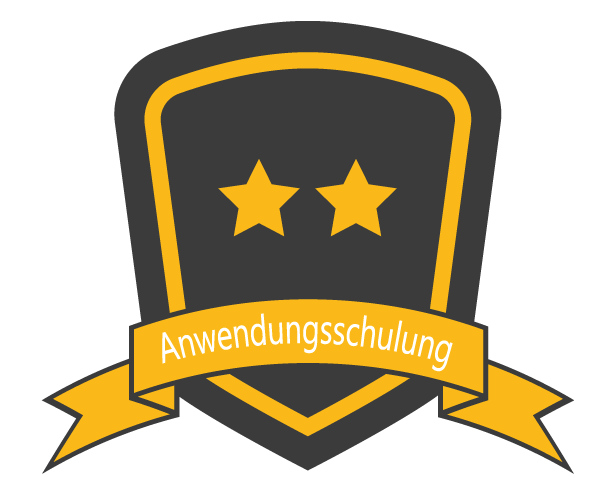 Icon: Anwendungsschulung